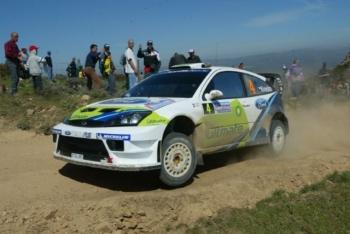 Sardinia rally 2005